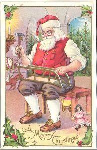Santa ponders his executive compensation
